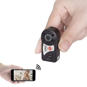 V.T.I. HD Mini Portable P2P WiFi IP Indoor/Outdoor HD DV Hidden Spy Camera
