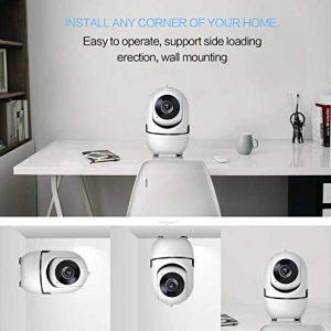 V.T.I. HD Wireless Mini Smart IP WiFi Camera, Security Surveillance Camera Motion