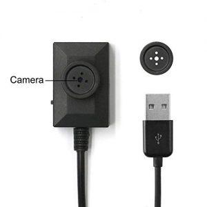 V.T.I. Mini Cute Button Spy Camera DV Camcorder