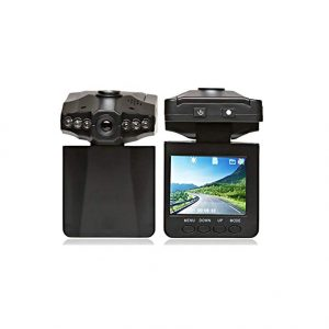 V.T.I. Portable Camera with 2.5 Inch TFT Screen and 6 IR LEDs for Night Vision Suitable for Car