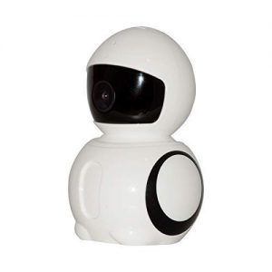 V.T.I. Smart WiFi Panoramic Robot 720p IP Security Camera with Live Video