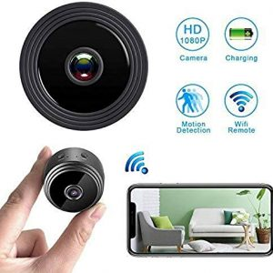 V.T.I. WiFi Mini Camera Wireless HD 1080P Indoor Home Small Security Camera
