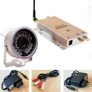 V.T.I. Wireless Night Vision CCTV Security Video Cordless Camera W Audio-04