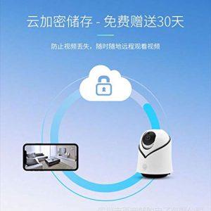 V.T.I. YCC365 Security Surveillance Camera,HD Wireless Mini Smart IP WiFi Camera