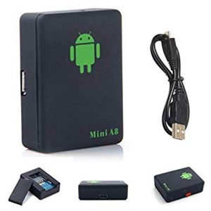 VTI Mini A8 Sim Bug GSM/GPRS/GPS Tracker Voice Recorder