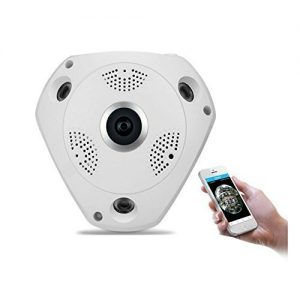 V.T.I. 960p Fisheye Panoramic 360 Wireless WiFi HD IP Security Camera